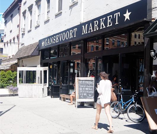 移転したミートパッキング地区の「ガンズボート・マーケット」(Gansevoort Market)_b0007805_3411483.jpg