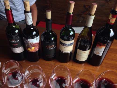 ワイン試飲会in999匹の羊_e0092612_16392485.jpg