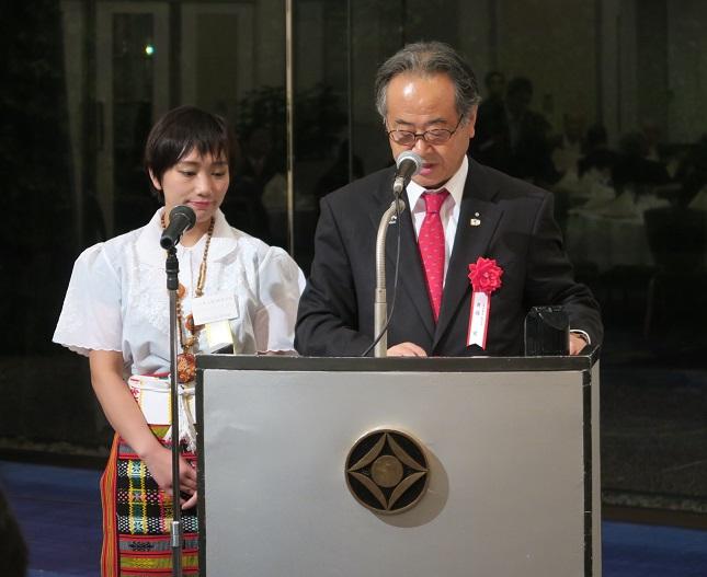 東京で 「比国育英会バギオ基金」の 創立35周年記念祝賀会が開催されました_a0109542_22482331.jpg