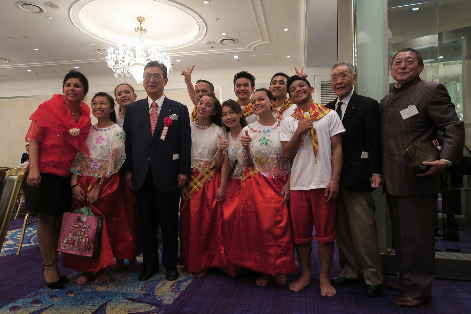 東京で 「比国育英会バギオ基金」の 創立35周年記念祝賀会が開催されました_a0109542_23122497.jpg