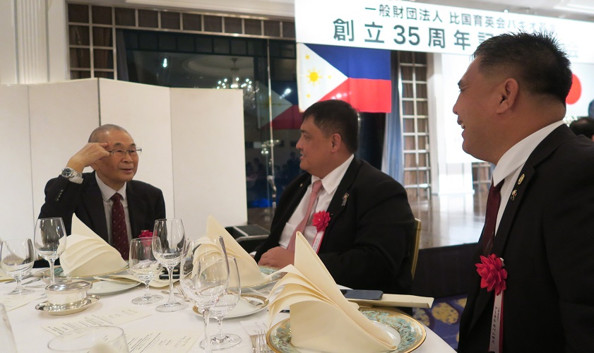東京で 「比国育英会バギオ基金」の 創立35周年記念祝賀会が開催されました_a0109542_23145564.jpg
