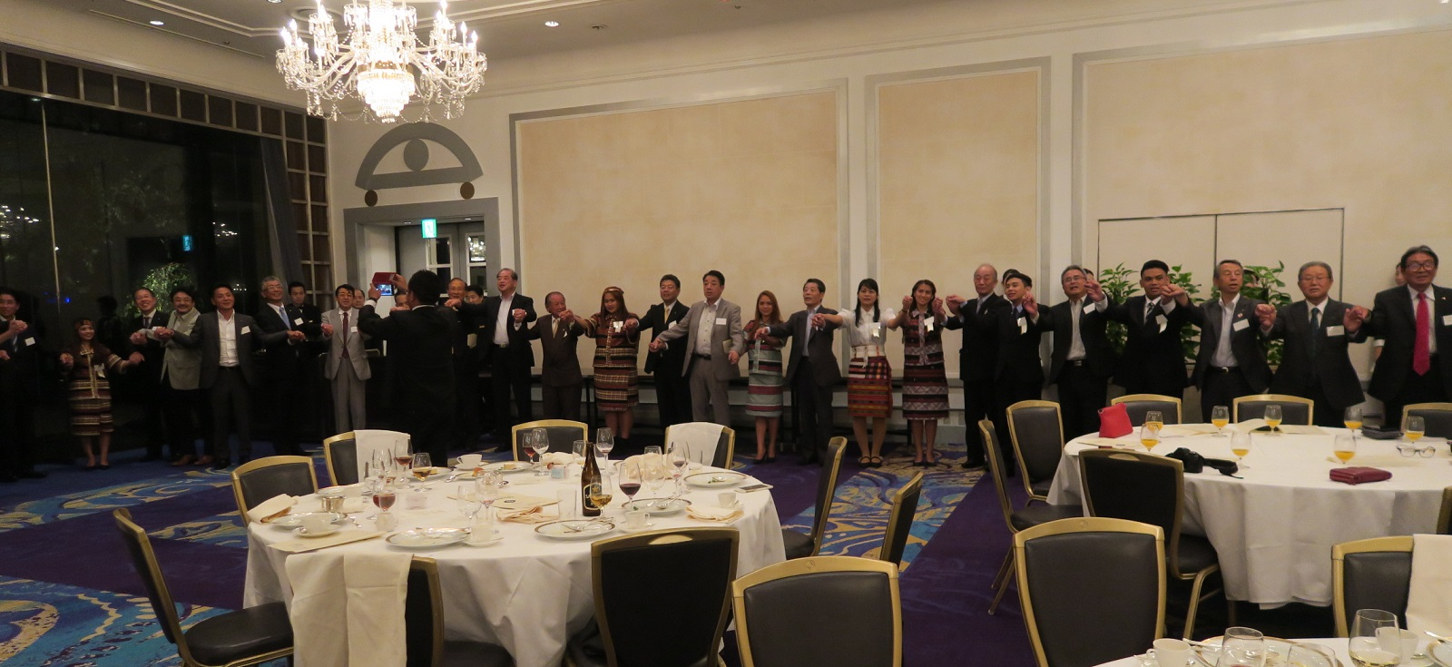東京で 「比国育英会バギオ基金」の 創立35周年記念祝賀会が開催されました_a0109542_2372296.jpg