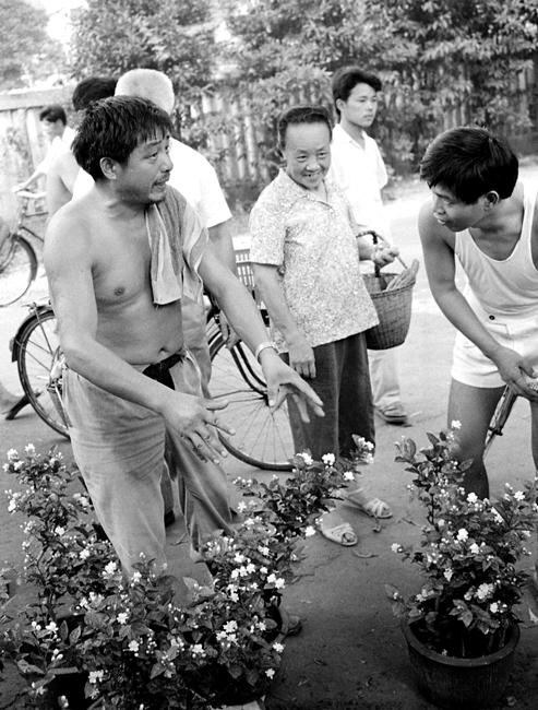 旧拍新掃描「92年夏杭州・有史以来の暑さと方言」 _c0182775_17325932.jpg