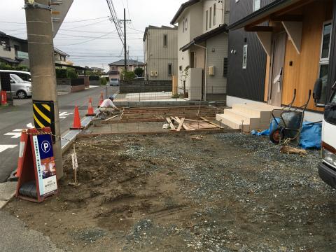 大島 Oさんの家 ★外構工事_d0205883_18204483.jpg