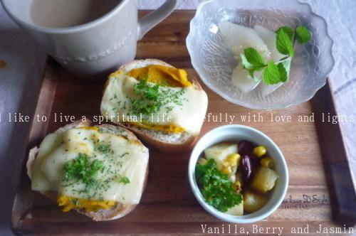和梨のコンポート・柚子とミントの香りとともに_c0332287_11062504.jpg