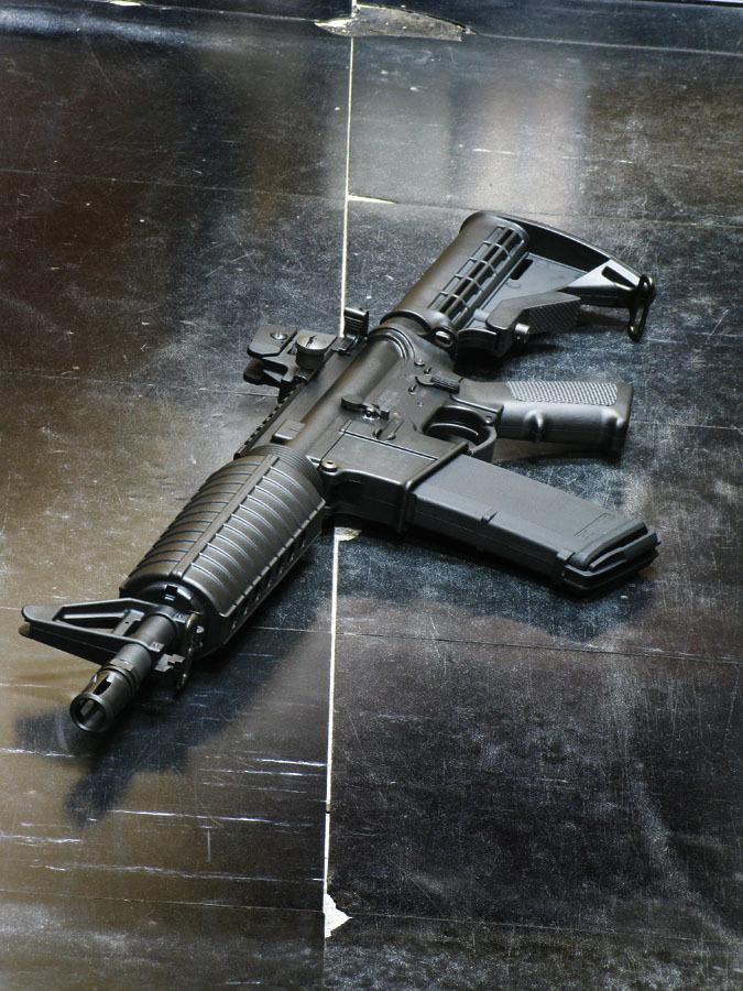 タニオコバ  M4 10.5inch ショートモデル モデルガン_f0131995_16592126.jpg