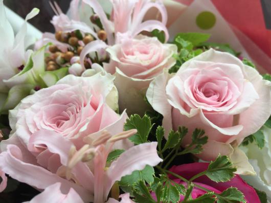花束。_b0135325_12505946.jpg