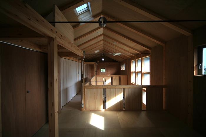 「未完成の家」オープンハウス  家族の成長とともに変化する住まい_e0189939_17224762.jpg