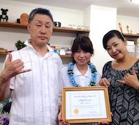 Keikoさんがディプロマを取得_c0196240_9225051.jpg