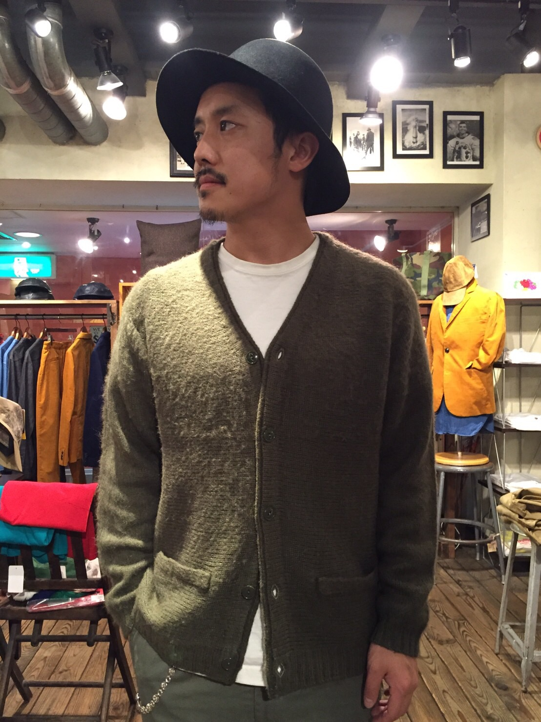 """ Town Craft / Mohair Cardigan \""_b0121563_1817366.jpg"