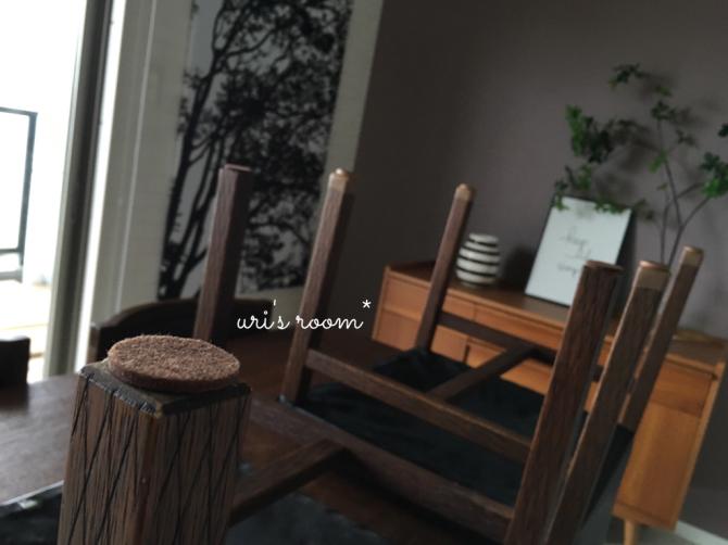 わが家のダイニングテーブルにも、人気のアレをお試し!_a0341288_21220486.jpg