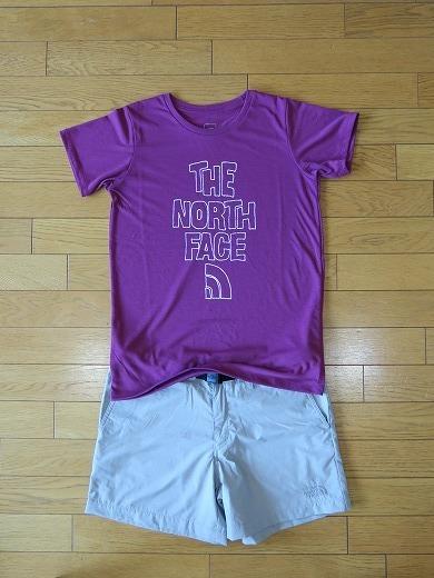 ノースフェイスのTシャツ_e0271890_12214755.jpg