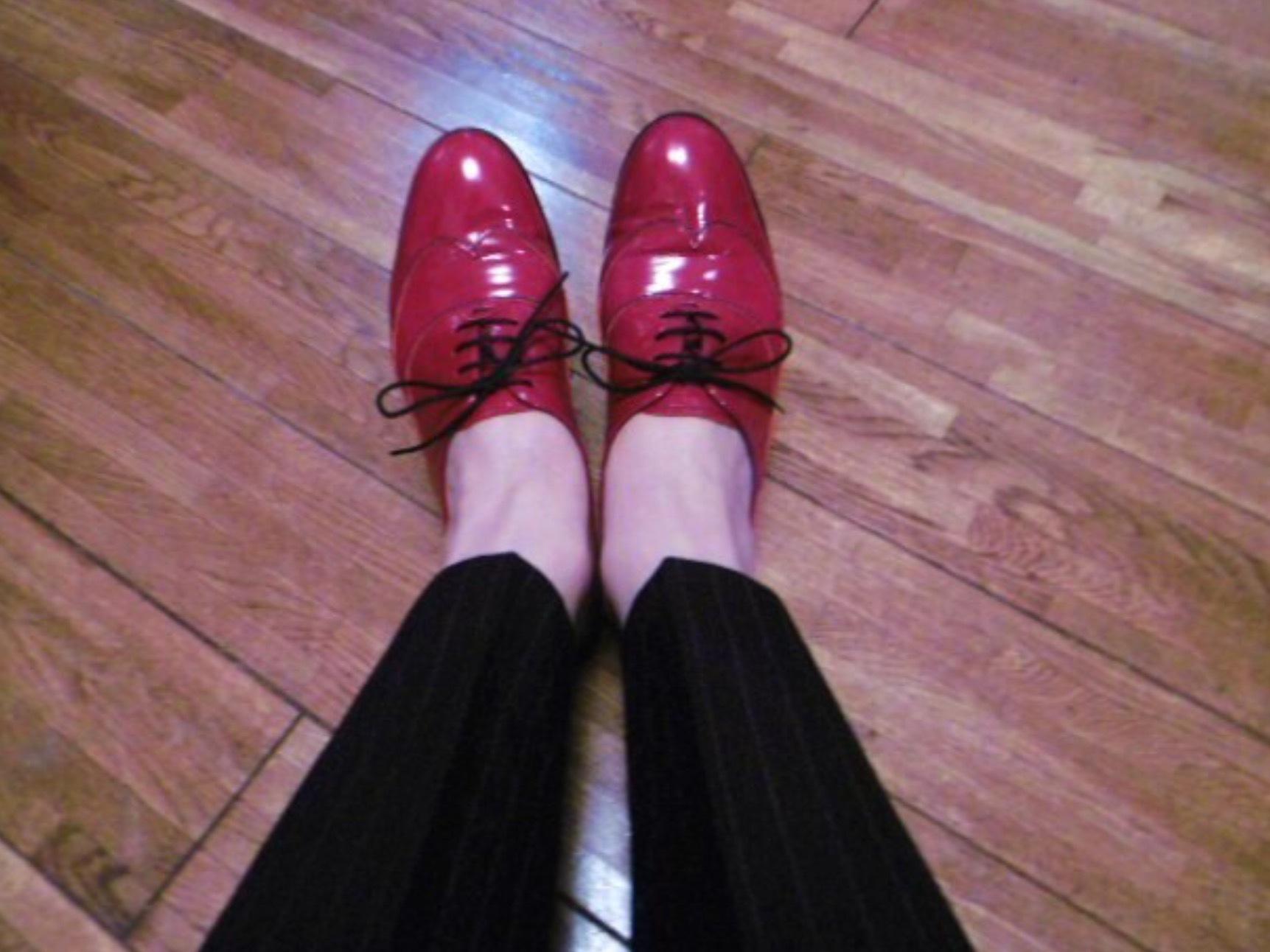 madameHの靴の変遷…紐靴とローファー_b0210699_23323263.jpeg