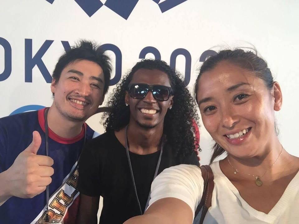 北京・ロンドンオリンピック 水泳日本代表の伊藤華英さんと_b0032617_112697.jpg