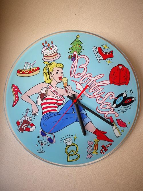 "Wall Clock ""Bobby Soxer""_c0289919_1630275.jpg"