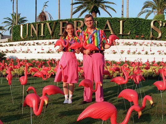 Don Featherstone Pink Flamingos_c0289919_16351387.jpg