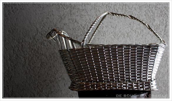 Christofle porte bouteille クリストフル製 アンティークのパニエ ボトルバスケット_d0184921_1728534.jpg