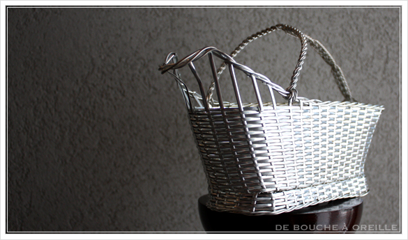 Christofle porte bouteille クリストフル製 アンティークのパニエ ボトルバスケット_d0184921_17313019.jpg