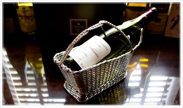 Christofle porte bouteille クリストフル製 アンティークのパニエ ボトルバスケット_d0184921_1745161.jpg
