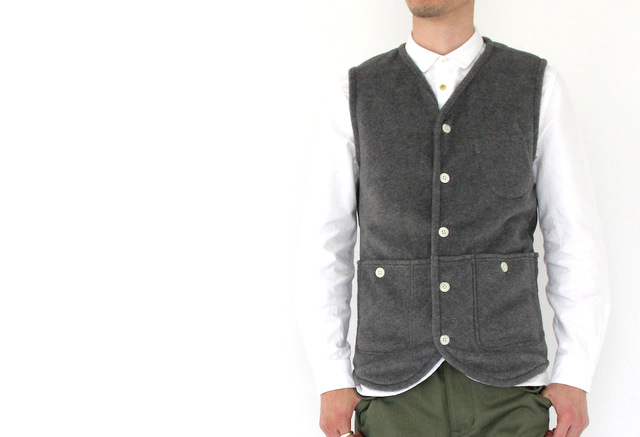 Boa Fleece Hunting Vest _e0142928_18402282.jpg