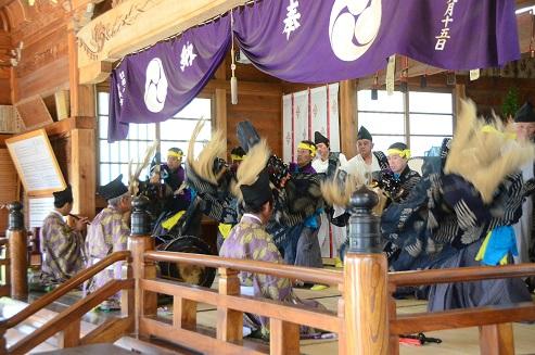 切田八幡神社例大祭 十和田市切田_c0299631_0531353.jpg
