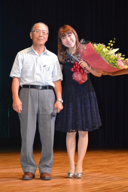 森山愛子さん。 _d0101562_13535857.jpg