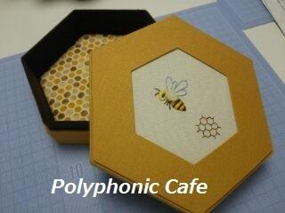 6角形の箱(蜂の女王)_d0351801_22591278.jpg