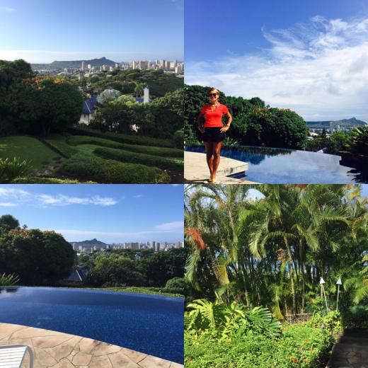 ハワイの豪邸にお邪魔しています。_f0215324_17410733.jpg