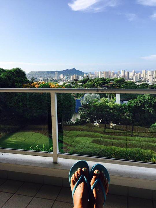 ハワイの豪邸にお邪魔しています。_f0215324_17410903.jpg