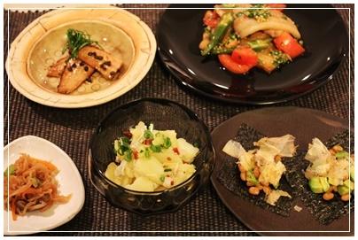 うちの夕食_c0141025_00292303.jpg