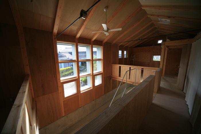 「未完成の家」オープンハウス  家族の成長とともに変化する住まい_e0189939_7385560.jpg