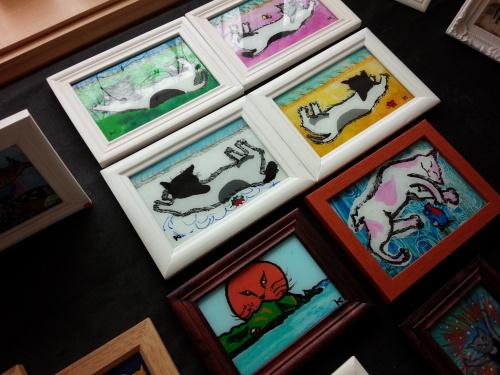 ガラス絵の作品展に行ってきました_f0374160_17264342.jpg