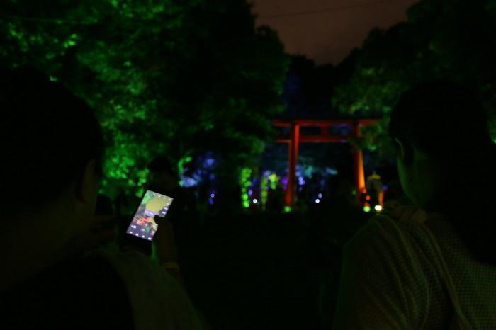下鴨神社 糺の森の光の祭_f0021869_23463988.jpg