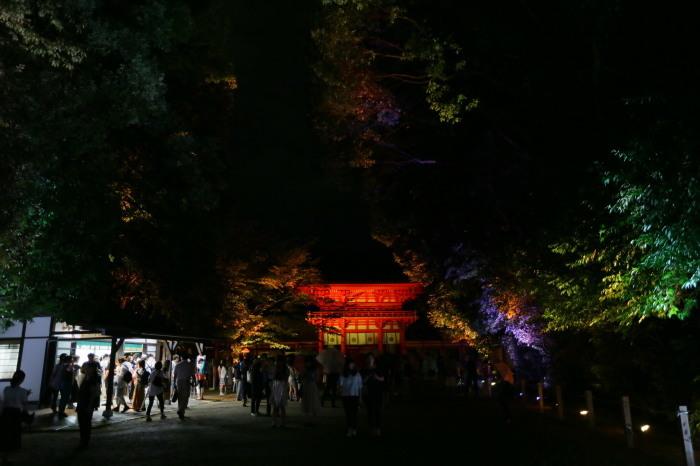 下鴨神社 糺の森の光の祭_f0021869_23475339.jpg