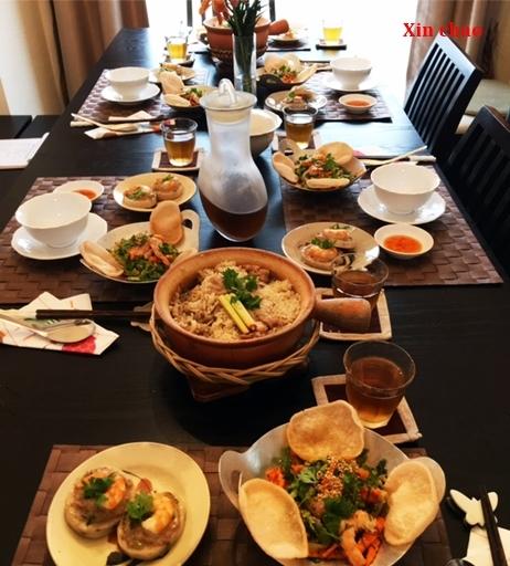 Xin chao  9月のレッスン ~鶏肉ときのこのレモングラス風味・土鍋ご飯の会~_d0353281_21582344.jpg
