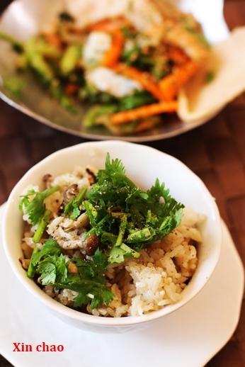 Xin chao  9月のレッスン ~鶏肉ときのこのレモングラス風味・土鍋ご飯の会~_d0353281_22043899.jpg