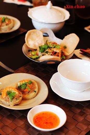 Xin chao  9月のレッスン ~鶏肉ときのこのレモングラス風味・土鍋ご飯の会~_d0353281_22090692.jpg