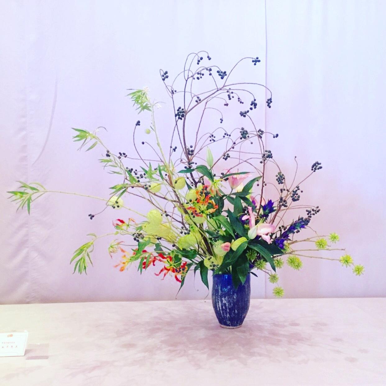 平安神宮 献花展 9月10日、11日_b0248803_11053043.jpeg