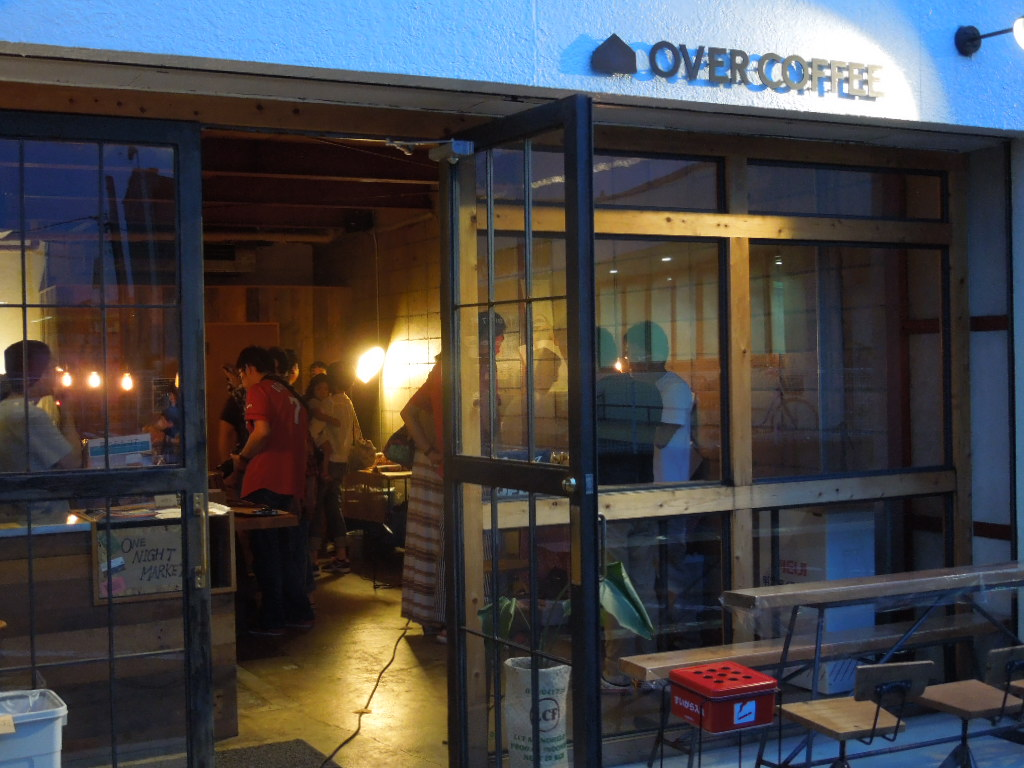「ONE NIGHT Market in Overcoffee 」_a0120513_2045546.jpg