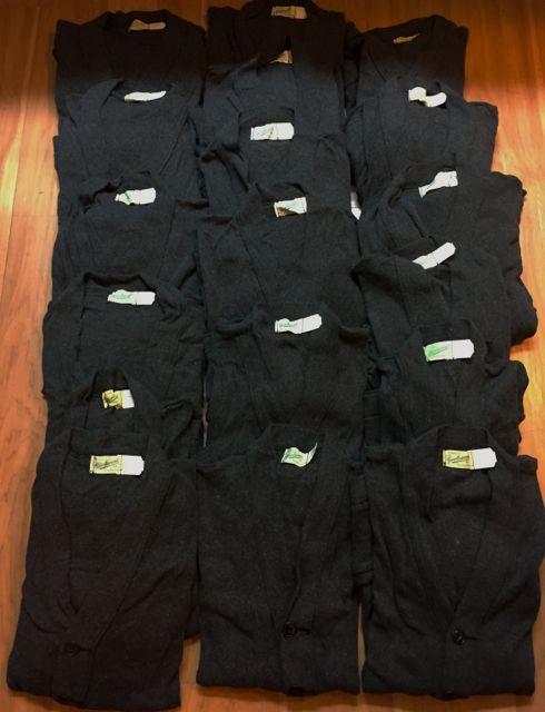 アメリカ仕入れ情報#41   デッドストック発見26  50s sports wear コットンカーディガン大量GET!!!_c0144020_1324856.jpg