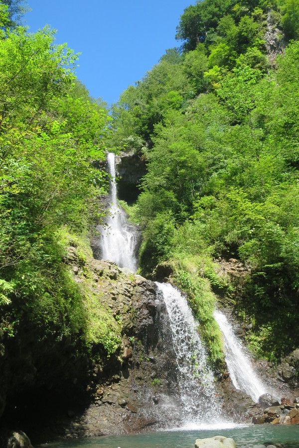 御嶽山(おんたけさん)、鈴ヶ沢で沢登り_a0067744_203245.jpg