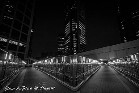 東京の風景 夜の汐留_b0133053_00034315.jpg