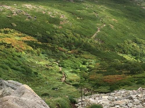 赤岳の一番紅葉~大雪山_e0326953_06541553.jpg