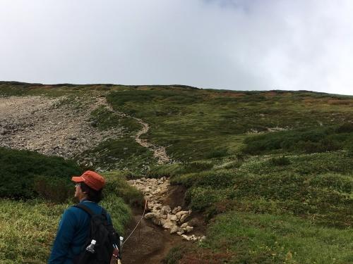 赤岳の一番紅葉~大雪山_e0326953_06552939.jpg