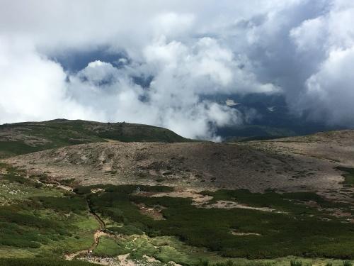 赤岳の一番紅葉~大雪山_e0326953_06574628.jpg