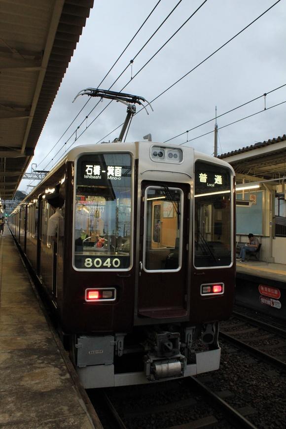 秋雨前線の中で 阪急8040F_d0202264_17341016.jpg