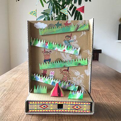 子ども 手作り 簡単 箱 貯金