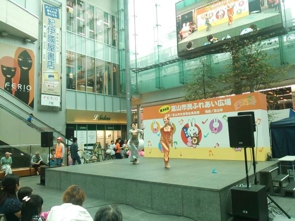 イベント出演しました、ふれあい広場@グランドプラザ_c0201916_11335467.jpg