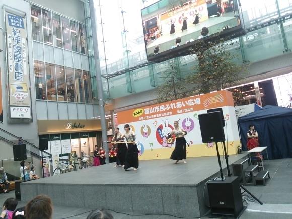 イベント出演しました、ふれあい広場@グランドプラザ_c0201916_11342348.jpg