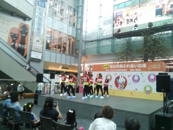 イベント出演しました、ふれあい広場@グランドプラザ_c0201916_11343976.jpg